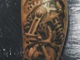 3d Татуировки биомеханика