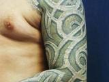 3d tattoo рисунок на плече