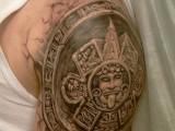 3d татуировка полинезия
