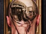 3d татуировка на голове