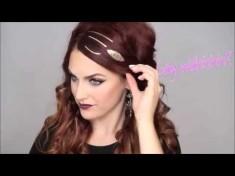 Флеш тату для волос (видео)