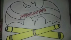 Эскиз тату тематики «Артиллерия»
