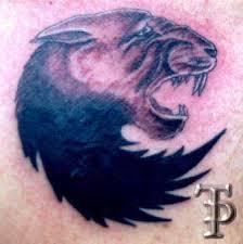 Тату «Оскал пантеры»