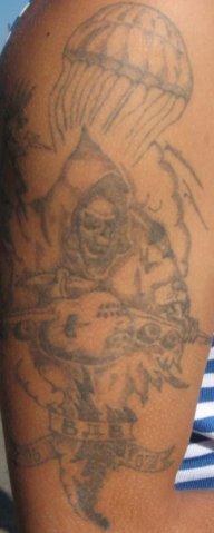 Татуировка, изображающая смерть