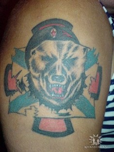 Татуировка морпеха