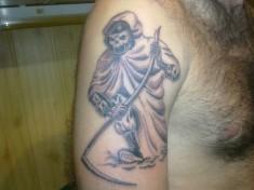 Татуировка с изображением смерти